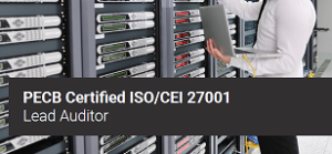 ISO 27001 Lead Auditor @ En ligne