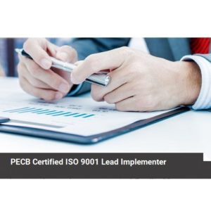 PECB Certified ISO 9001 Lead Implementer